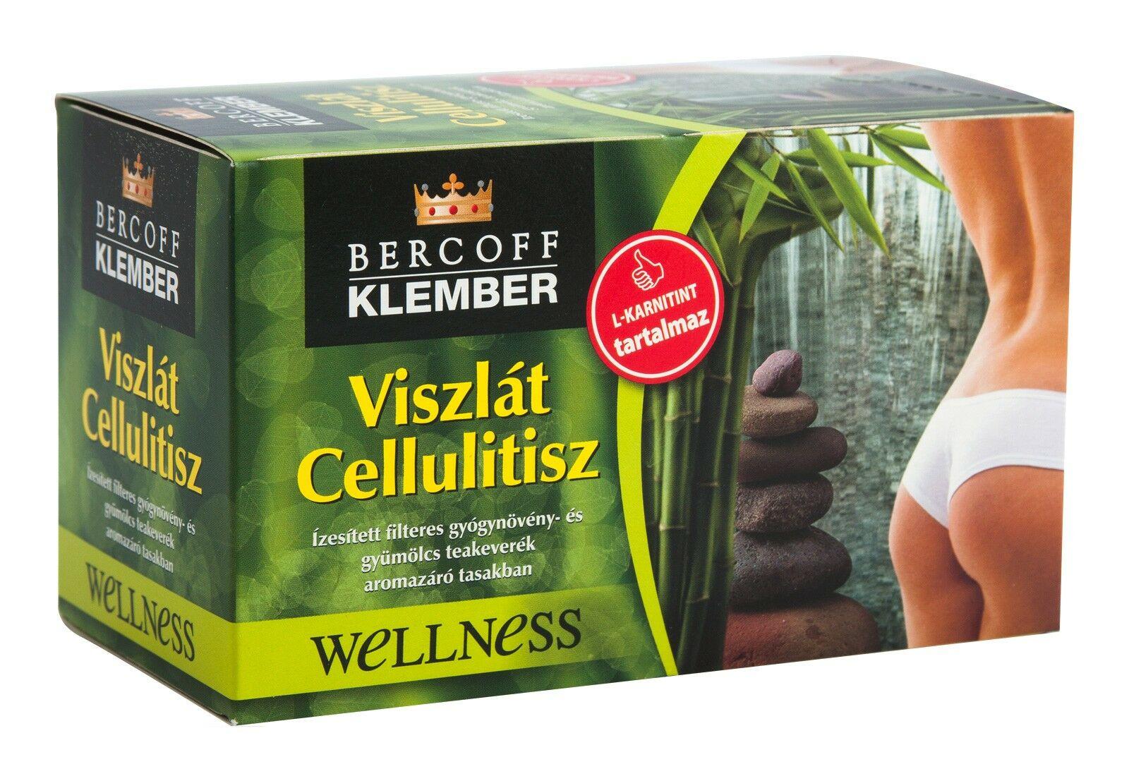 Klember Viszlát cellulitisz tea