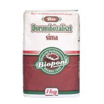 BIOPONT Bio Durumbúzaliszt sima, 1000 g