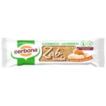 Cerbona Gluténmentes zabszelet karamellás-mandulás 40 g