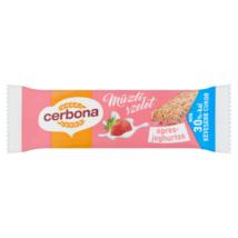 Cerbona Müzliszelet epres-joghurtos 20 g