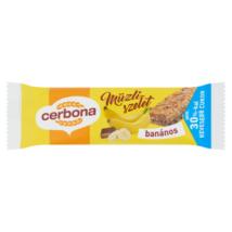 Cerbona Müzliszelet banános 20 g