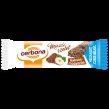 Cerbona Müzliszelet Cukormentes kakaós-mogyorós 20 g