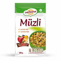 Cerbona Gluténmentes müzli magvas-gyümölcsös 250 g