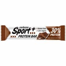 Cerbona Sport+ Gluténmentes protein szelet dupla csokis 50 g