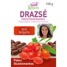 SZAFI REFORM Drazsé édesítőszerrel - goji bogyós 100 g