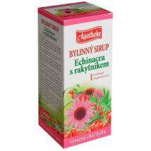 APOTHEKE Echinacea szirup homoktövissel 250 ml