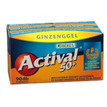 BÉRES ACTIVAL 50+ filmtabletta 90 db