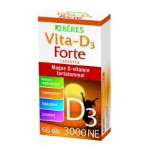BÉRES Vita-D3 Forte tabletta 60 db