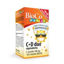 BIOCO C+D Duo Junior rágótabletta 100 db