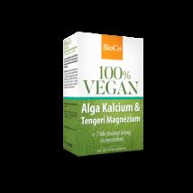 BIOCO Vegan Alga Kalcium - Tengeri magnézium tabletta 60 db