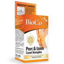 BIOCO Porc és Izom Csont Komplex tabletta 60 db