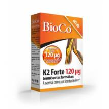 BIOCO K2 Forte Vitamin tabletta 60 db