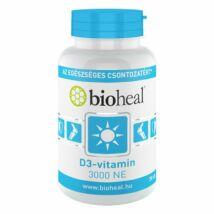 BIOHEAL D3-Vitamin 3000 NE lágykapszula 70 db