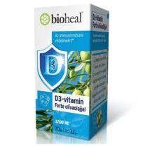 BIOHEAL D3-Vitamin forte lágykapszula olívaolajjal 70 db