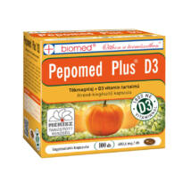 BIOMED Pepomed Plus D3-Vitamin kapszula 100 db
