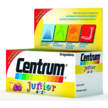 CENTRUM Junior A-Z-ig multivitamin rágótabletta 30 db