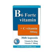 Dr. CHEN B6 Forte+C-vitamin kapszula 30 db
