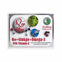 Dr. CHEN Q10+Ginkgo+Omega-3 kapszula 30 db