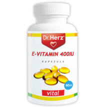 Dr. HERZ E-Vitamin 400iu kapszula 60 db