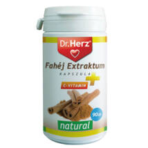Dr. HERZ Fahéj Extraktum+C-Vitamin kapszula 90 db