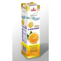 HAAS Premium L-Karnitin 500 mg Pezsgőtabletta 20 db