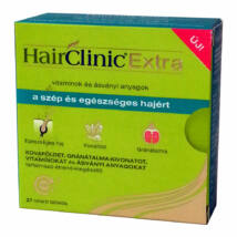 Hair Clinic Extra Hajszépség tabletta 27 db