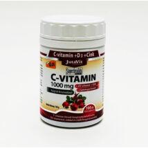 JUTAVIT C-Vitamin 1000 mg+csipkebogyó+D3+Cink 100 db