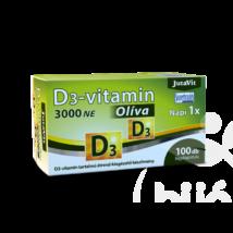 JUTAVIT D3-Vitamin 3000 NE Olíva - 100 db