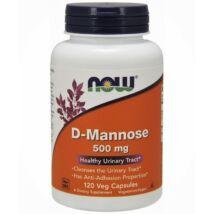 NOW D-Mannose kapszula 120 db