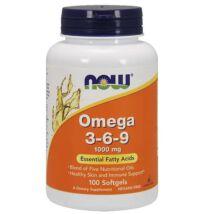 NOW Omega 3-6-9 kapszula 100 db