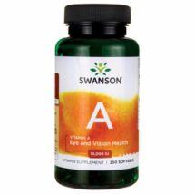 SWANSON A-vitamin 1000 NE kapszula 250 db