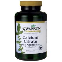 SWANSON Kalcium-Citrát-Magnézium kapszula 150 db