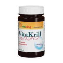 VITAKING Vitakrill olaj kapszula 435 mg, 30 db