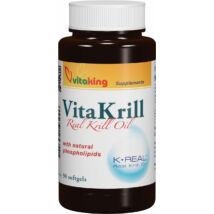 VITAKING Vitakrill olaj kapszula 435 mg, 90 db