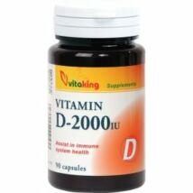 VITAKING D-2000 Vitamin Kapszula 90 db