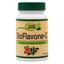 Vitamin Station BioFlavone-C tabletta 100 db
