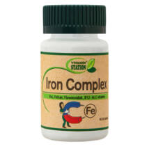 Vitamin Station Iron Complex tabletta 60 db