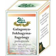 ZAFIR Galagonya-fagyöngy-fokhagyma olajkapszula 60 db