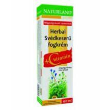 NATURLAND Herbál Svédkeserű fogkrém C-vitaminnal 100 ml