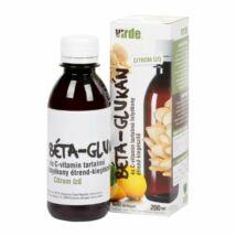 VIRDE Béta-glukán és C-Vitamin Tartalmú Szirup 200 ml