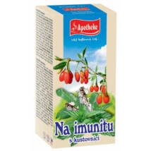 APOTHEKE Homoktövis tea Goji Bogyóval 20 filter