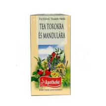 APOTHEKE Tea Torokra és Mandulára 20 filter