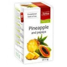 APOTHEKE Ananász és Papaya Tea 20 filter