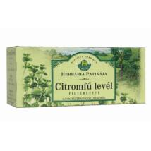 HERBÁRIA Citromfűlevél tea 25 filter
