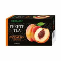 HERBÁRIA Fekete tea Őszibarack ízesítéssel 20 filter