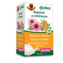 HERBEX Homoktövis és Bíbor Kasvirág Tea 20 filter