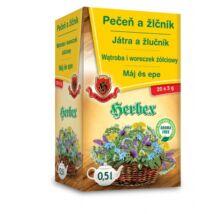HERBEX Máj és Epe Tea 20 filter