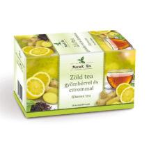 MECSEK Zöld tea gyömbérrel és citrommal 20 filter
