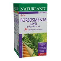 NATURLAND Borsosmenta levél tea 25 filter