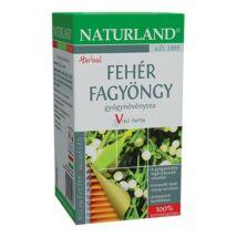 NATURLAND Fehér fagyöngy tea 25 filter